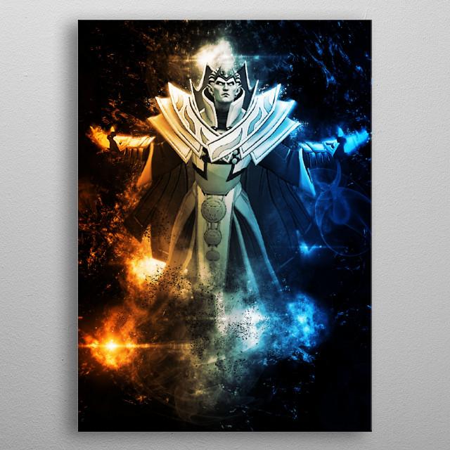 Invoker - Dota 2  metal poster