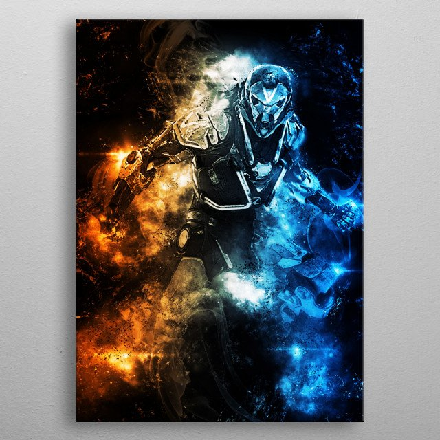 Fascinating metal poster designed by Everything Anime. Displate has a unique signature and hologram on the back to add authenticity to each design. metal poster