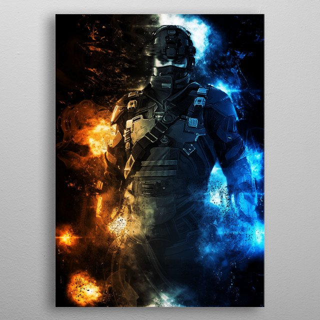 The division game metal poster