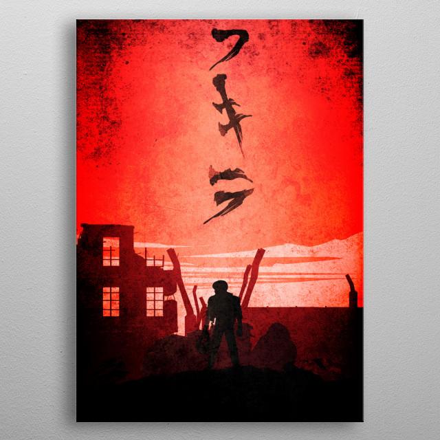 AKira metal poster