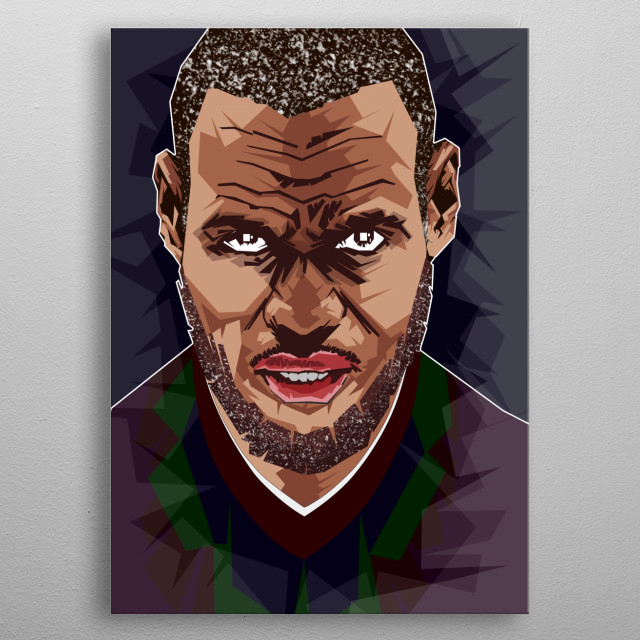 the Vector Lebron James Pop Art Hard Style metal poster
