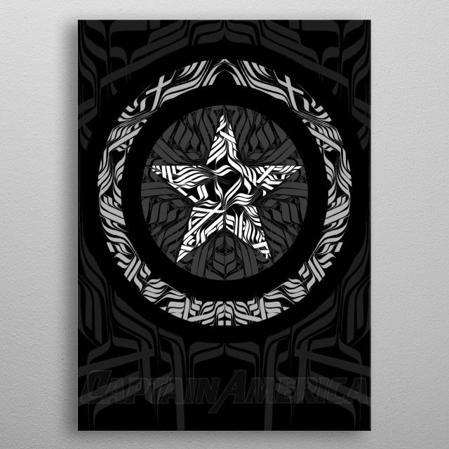 TRIBUTE ART  Digital creation By Mr.Klevra  metal poster