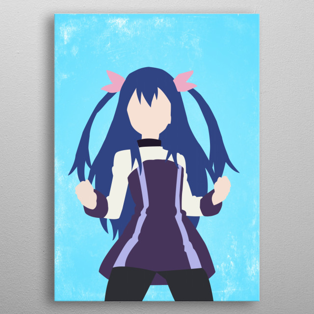 Wendy - Fairy Tail metal poster