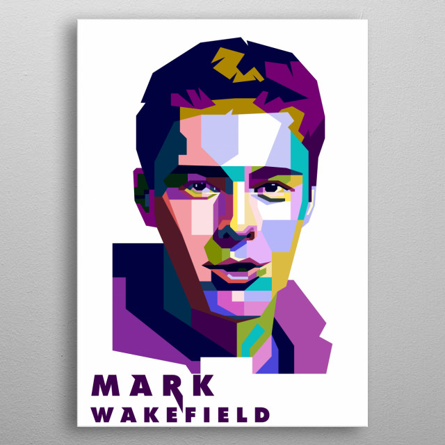 A tribute to the former vocal of Xero, Mark Wakefield. metal poster