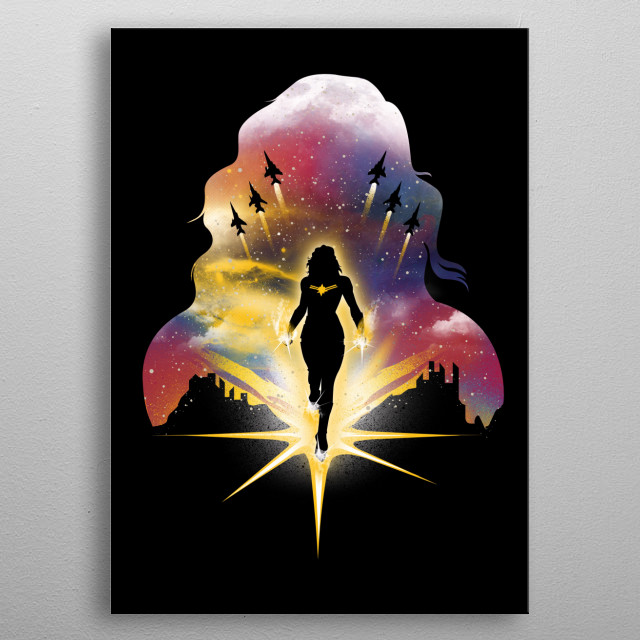 Captain of the Universe metal poster