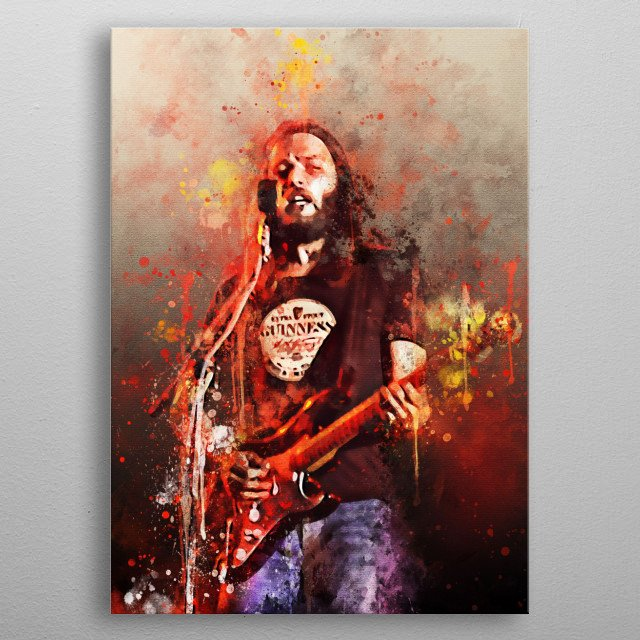 David Jon Gilmour CBE is a British guitarist, singer and songwriter who is well known as a member of Pink Floyd metal poster