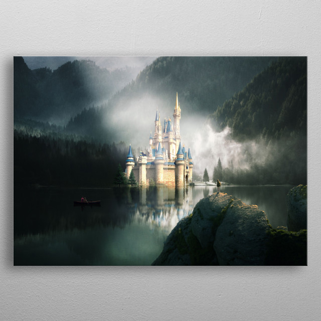 Follow the mountains and you will find beautiful places in it. For more:  metal poster