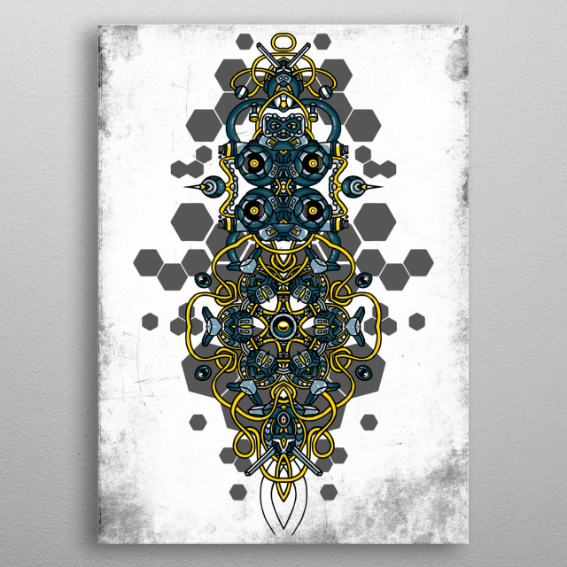 High-quality metal print from amazing Techno Collection collection will bring unique style to your space and will show off your personality. metal poster