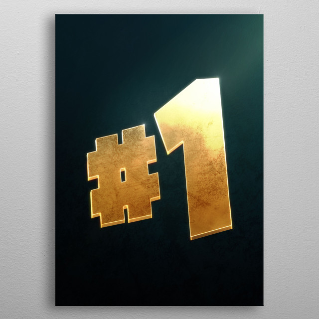 Victory Royale metal poster