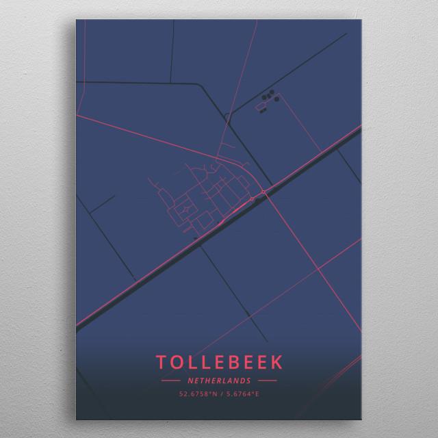 Tollebeek, Netherlands metal poster