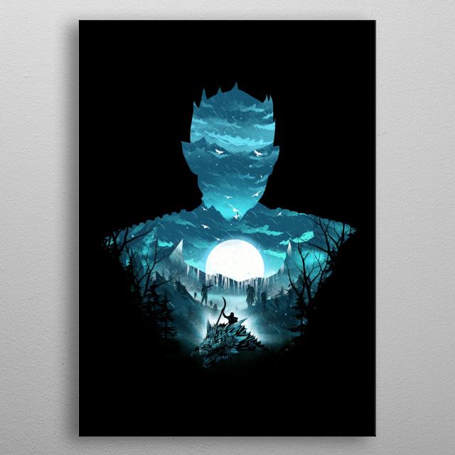 The Night King metal poster