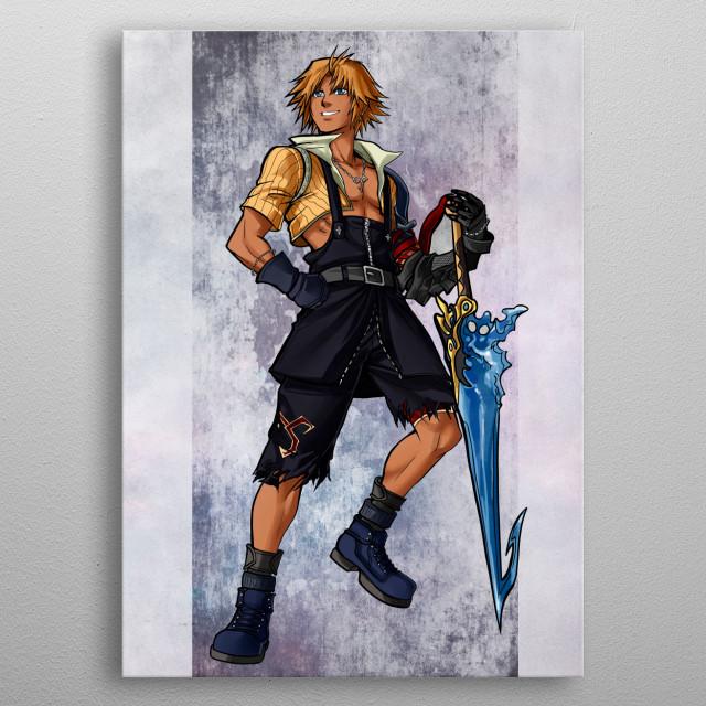 Tidus metal poster