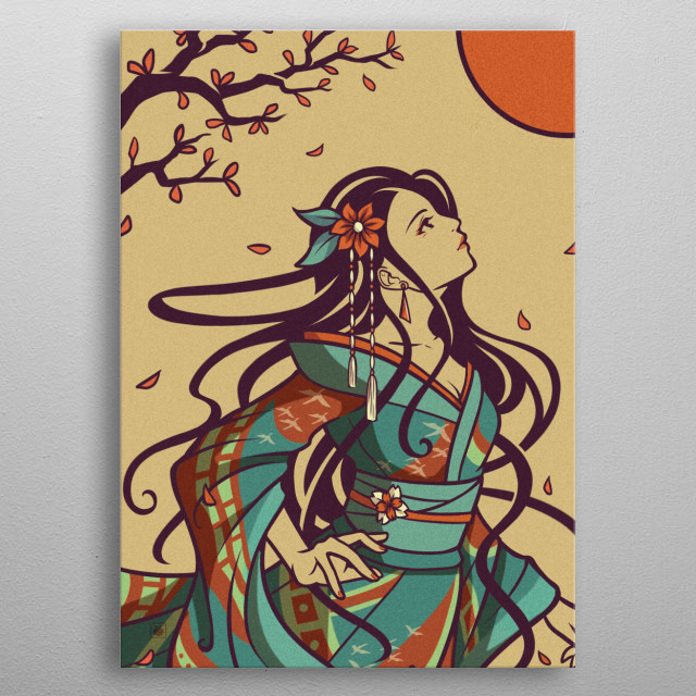 Beautiful and Elegant advent  metal poster