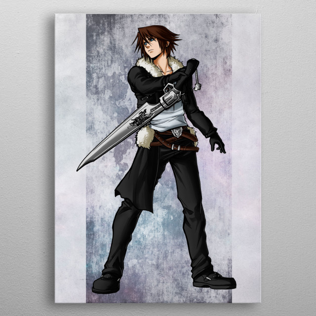 Squall  metal poster