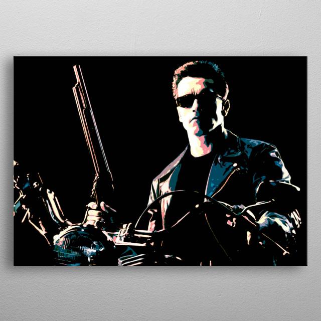 Terminator 2: Judgment Day dirilis di Amerika Serikat pada 3 Juli 1991. Efek visualnya merupakan terobosan dalam citra yang dihasilkan kompu metal poster