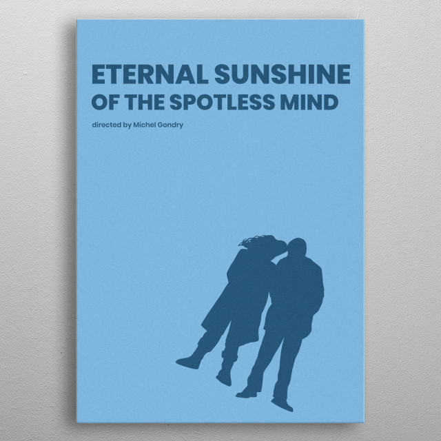 Eternal Sunshine Of The Spotless Mind Minimalistic Poster metal poster