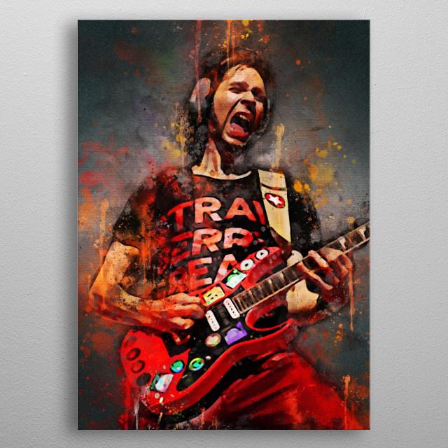 Paul Gilbert is one of the guitar gods like Steve Vai, Yngwie, John Petrucci metal poster
