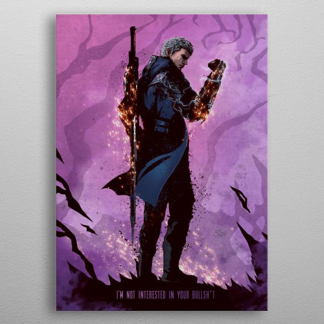 Nero metal poster