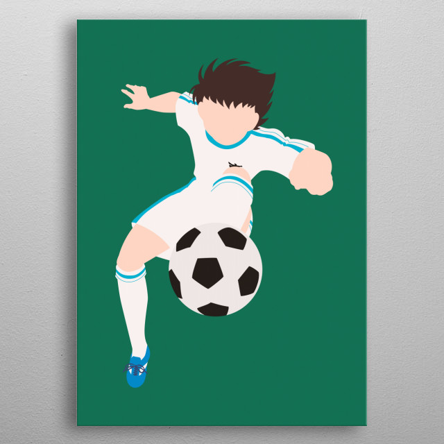 High-quality metal print from amazing Manga Minimalistic collection will bring unique style to your space and will show off your personality. metal poster