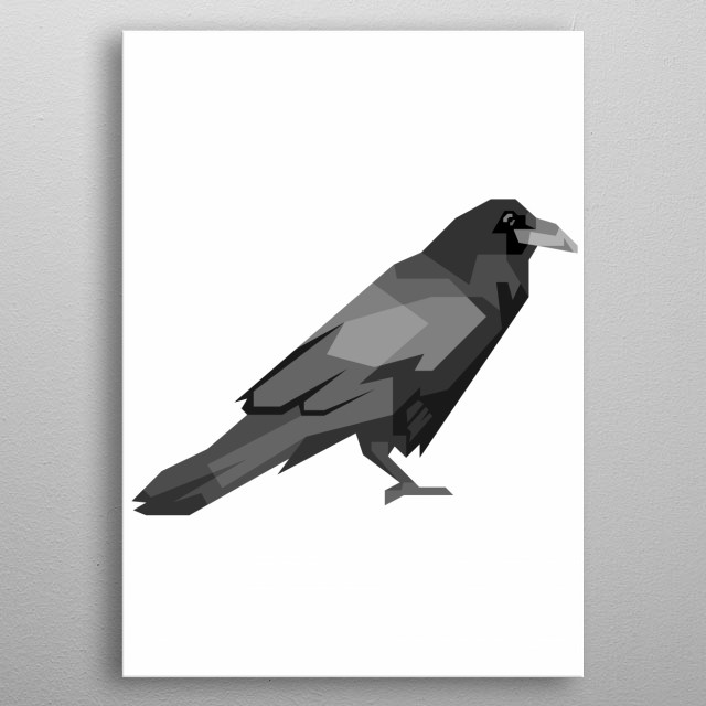 Design illustration with grayscale style metal poster