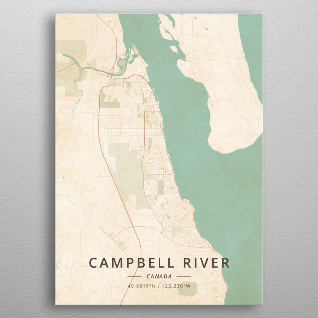 Campbell River, Canada metal poster