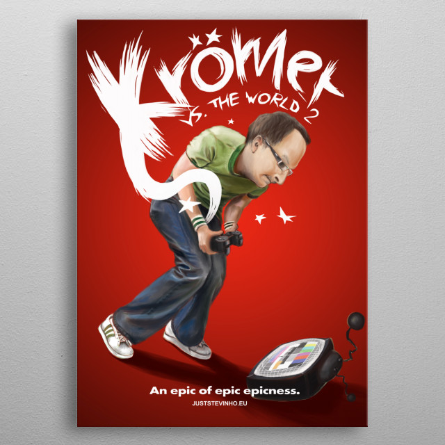 Cover-Art of the german Web-Series metal poster