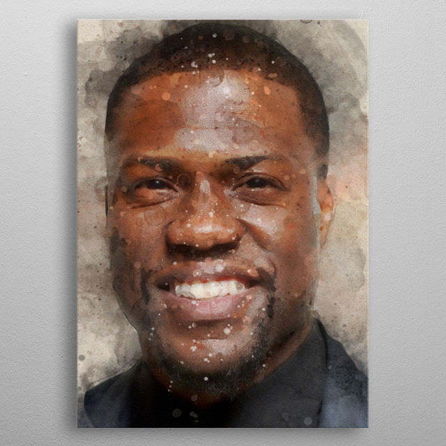 Kevin Hart metal poster