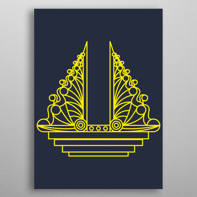 Fascinating  metal poster designed with love by arshaka. Decorate your space with this design & find daily inspiration in it. metal poster