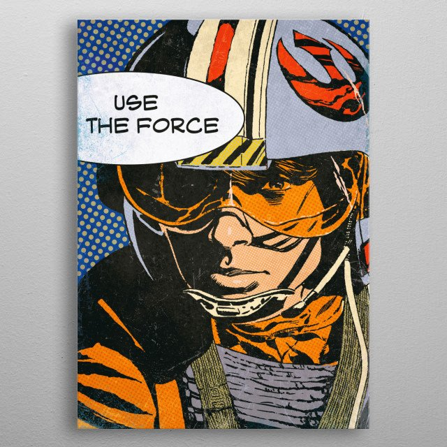 Use the force metal poster