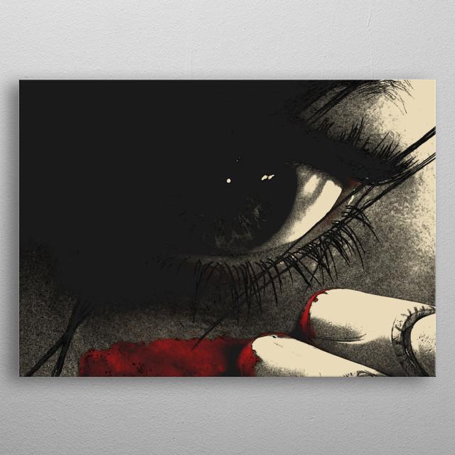 Alita: Battle Angel metal poster