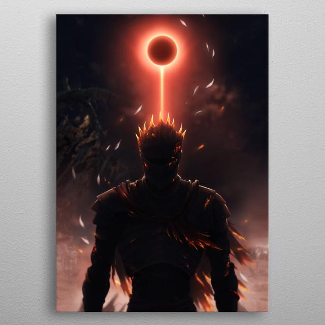 Soul of Cinder Dark souls metal poster
