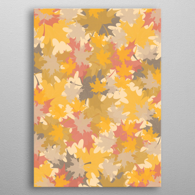 for autumn lovers! metal poster