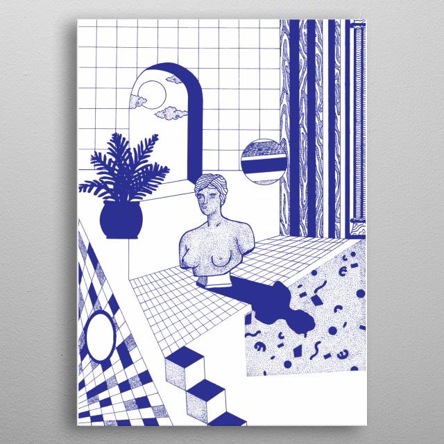 Part of 2019 art work from Tuyp Tran metal poster