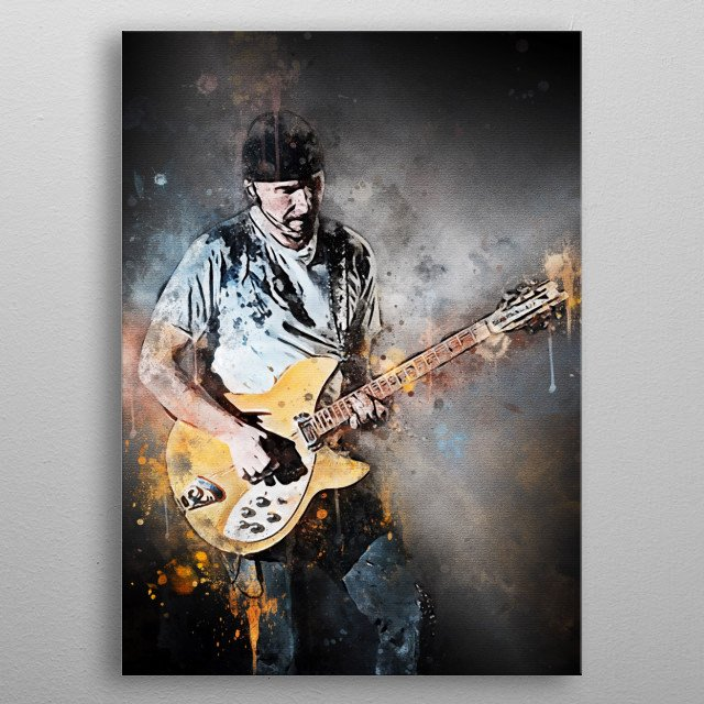 David Howell Evans, better known by his stage name Edge, is an Irish musician and songwriter best known as a guitarist metal poster