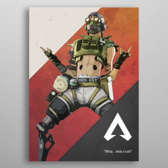 Octane Apex Legends by Gemini Phoenix | metal posters - Displate