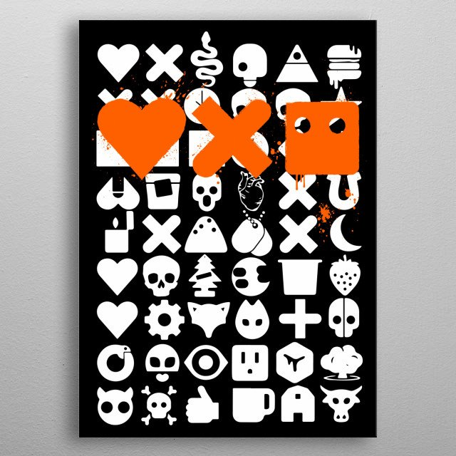 Love Death and Robots metal poster