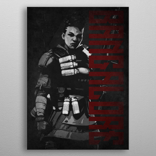Apex Legends by #Beegeedoubleyou metal poster