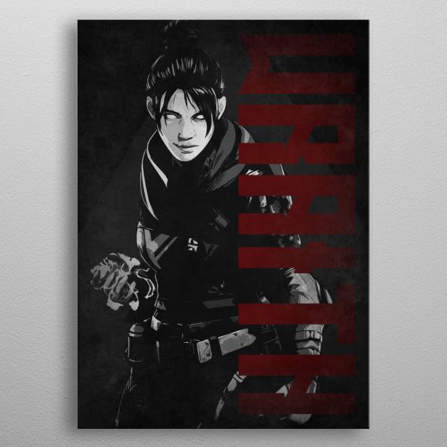 Apex Legends by #Beegeedoubleyou metal poster