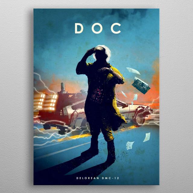Doc metal poster