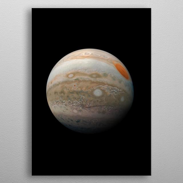 Jupiter metal poster