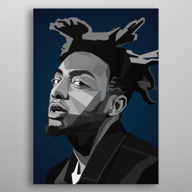 Adam Aminé Daniel rapper Caroline metal poster