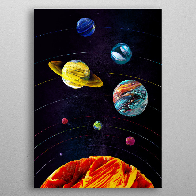 High-quality metal wall art meticulously designed by nabakumov would bring extraordinary style to your room. Hang it & enjoy. metal poster