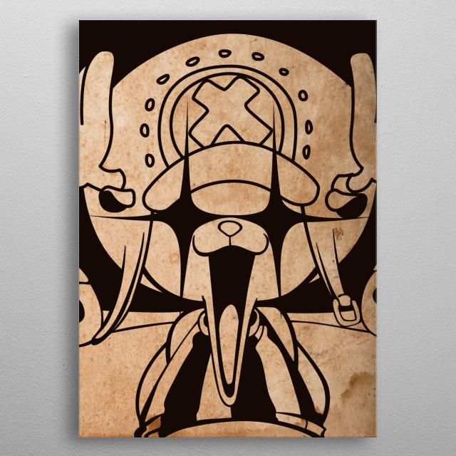 Mugiwara Crew metal poster