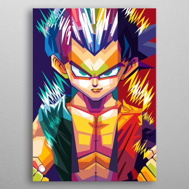 Dragon Ball is a manga and anime by Akira Toriyama from 1984 to 1995. metal poster