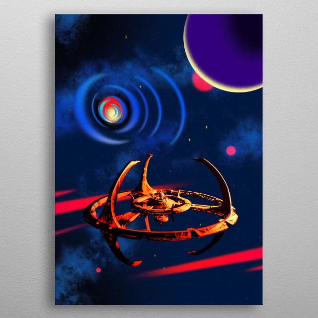Deep Space Nine metal poster