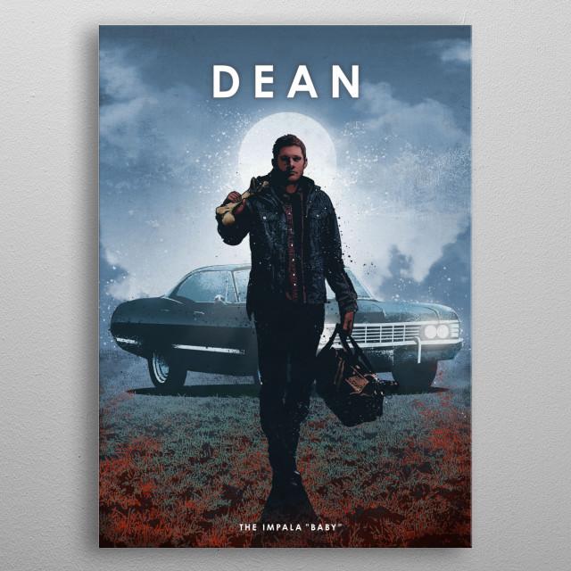 Demon hunter metal poster
