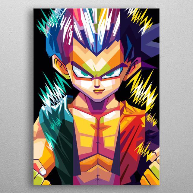 Dragon Ball is a manga and anime by Akira Toriyama from 1984 to 1995. metal poster