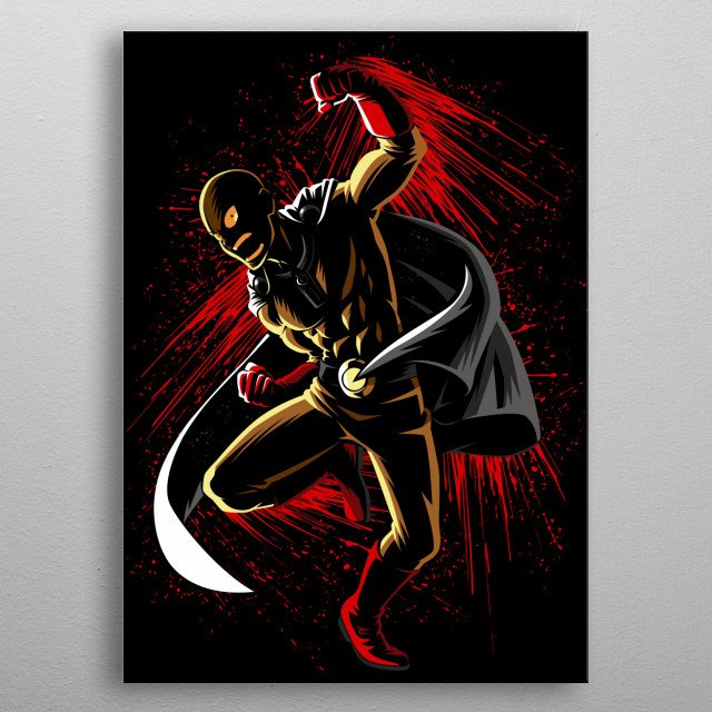 Ink Punch  metal poster