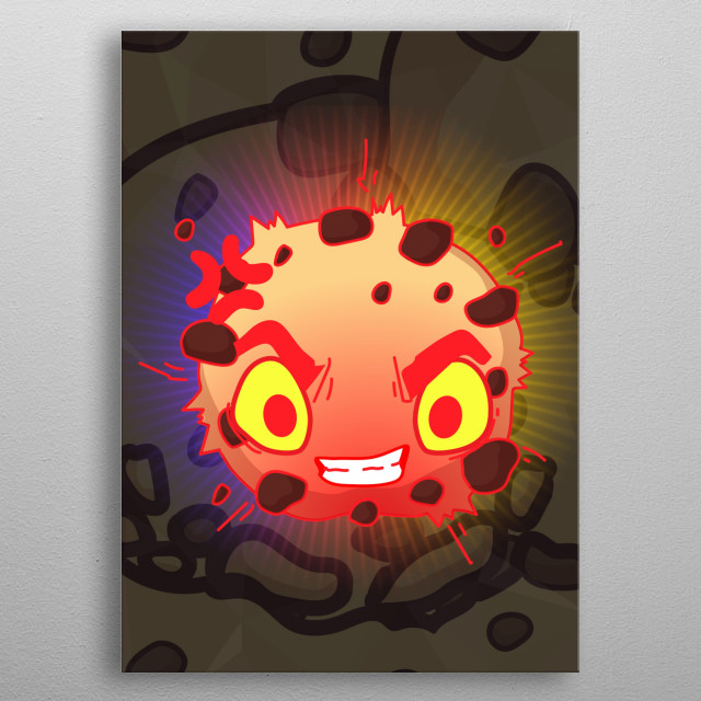 Rage Cookie metal poster