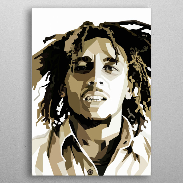 Marley Design For Music Lovers. metal poster